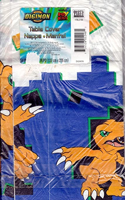 Amazon.com: Digimon Digital Monsters papel funda para mesa ...