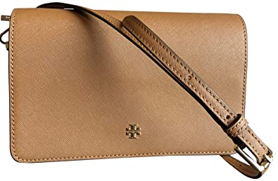 43dc0b1753b Image Unavailable. Image not available for. Color  Tory Burch Emerson Combo  Saffiano Leather Crossbody ...