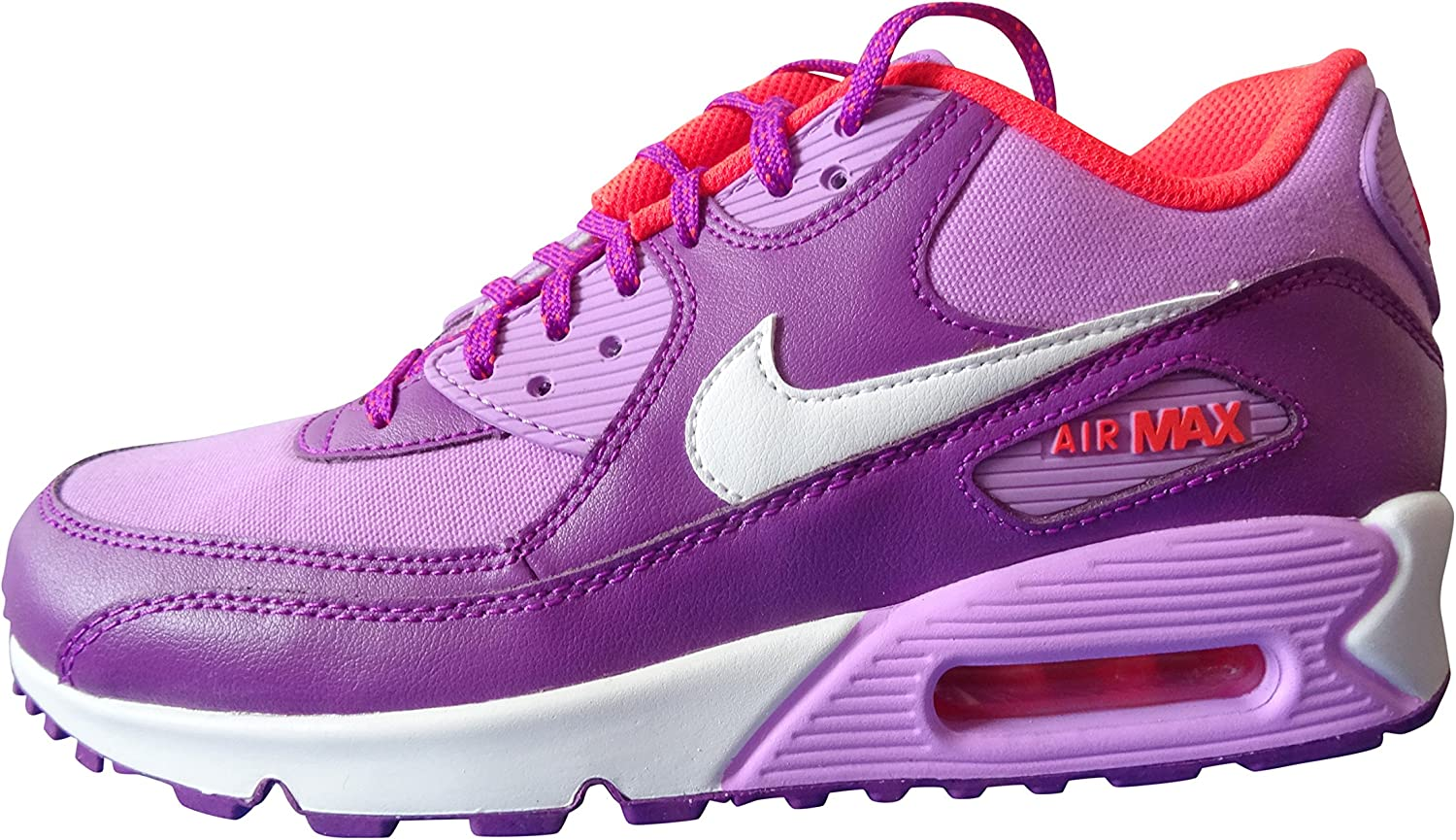 Nike Air Max 90 mesh trainers shoes sneakers 724855 500 NEW GS