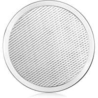 New Star Foodservice Commercial-Grade Pizza/Baking Screens, 8-Inch 8-Inch,Pack of 6 Silver 50936