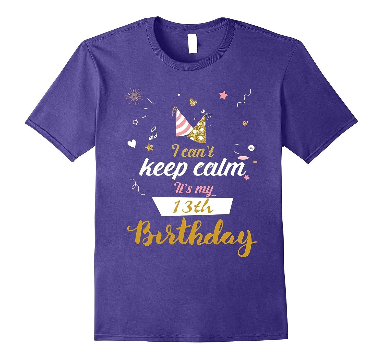 Womens 13th birthday T shirt Purple-Awarplus