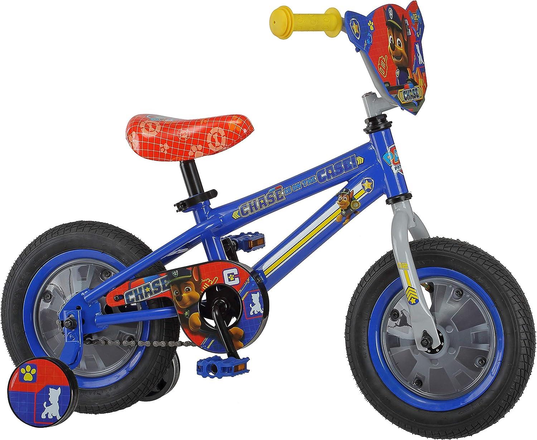 Nickelodeon Trae la diversión de la Patrulla Canina a la Entrada con la Bicicleta de la Patrulla Canina de 12 Pulgadas con Chase: Amazon.es: Deportes y aire libre