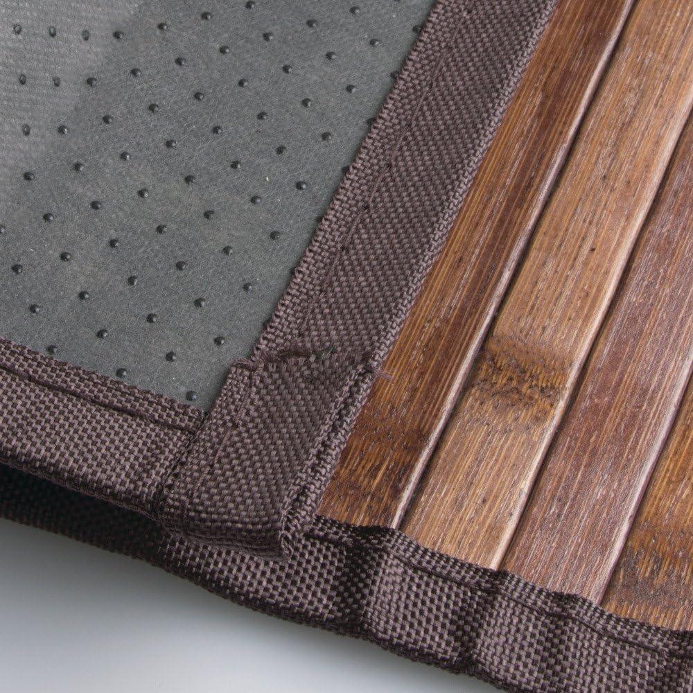 Bamb/ú InterDesign Formbu Bamboo Tappetino Bagno Mocha Marrone 61 x 122 cm