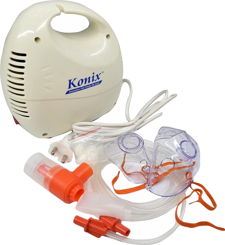 Konix Premium Nebulizer Adult Mask Adult Mouthpiece Medicine