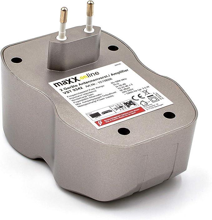 Maxx Online 2 Geräte Antennenverstärker 2x 20 Db Elektronik