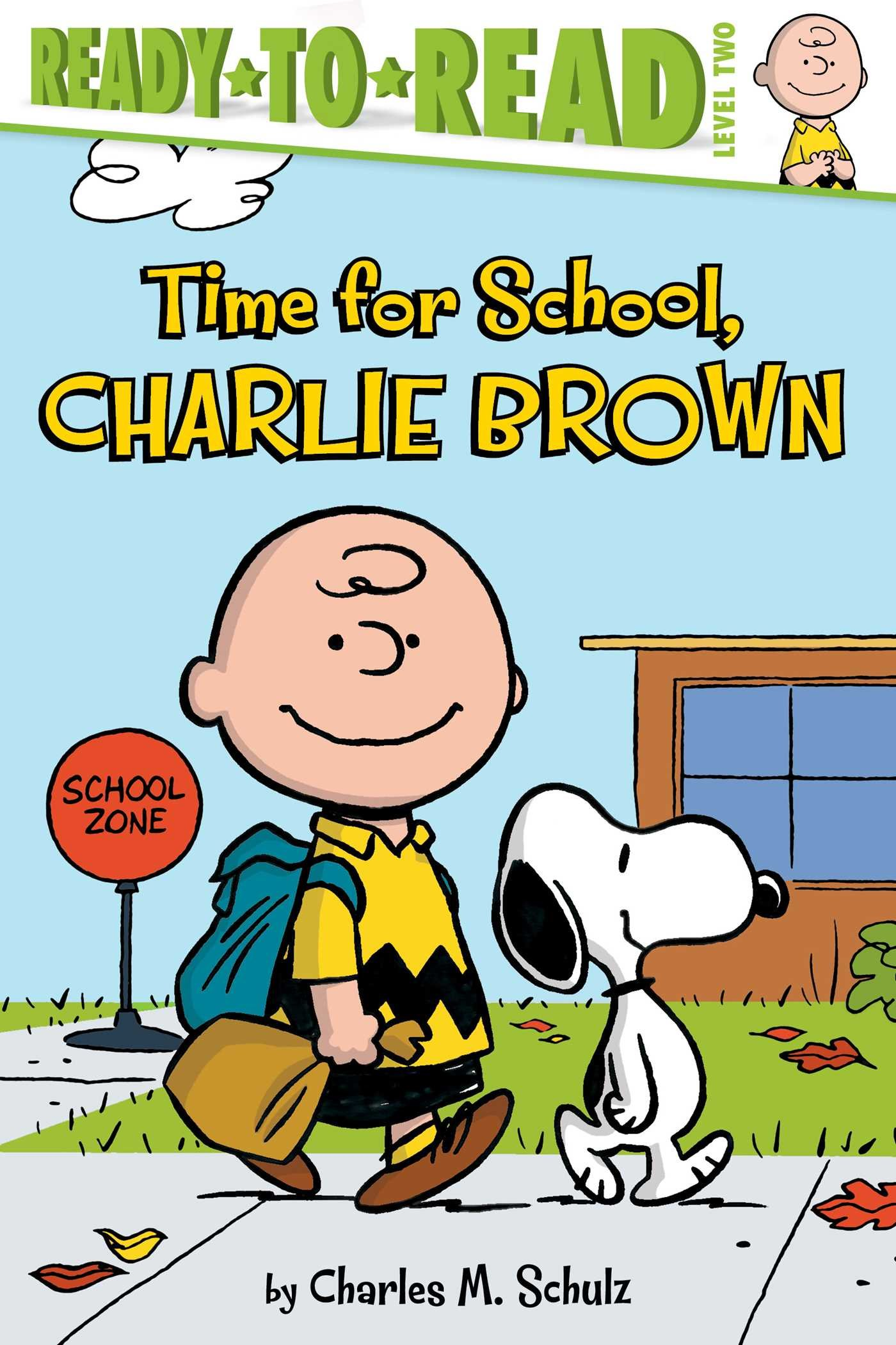 Time for School Charlie Brown Peanuts Maggie Testa Charles M