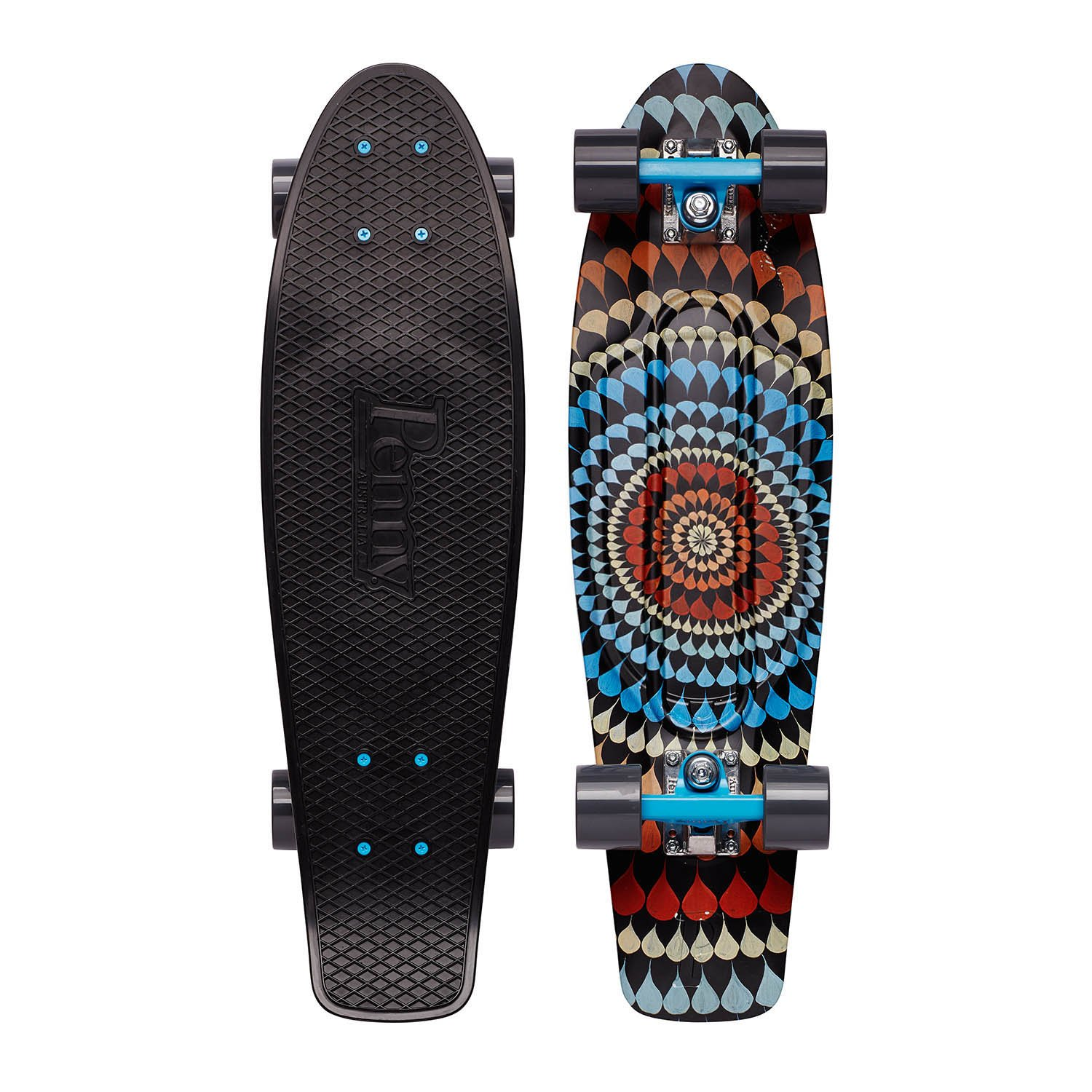 Penny Graphic Complete Skateboard - Ripple 27'' by Penny Australia