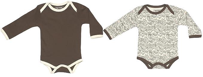Organic Baby Clothing Long Sleeve Bodysuit Gots Certified Cotton