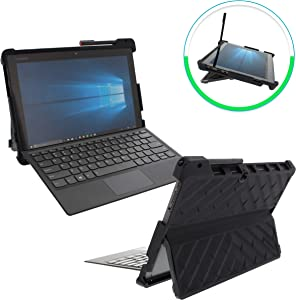 Gumdrop DropTech Case Designed for Lenovo Miix 520 and Miix 510 2-in-1 Laptop for Commercial, Business and Office Essentials - Black, Rugged, Shock Absorbing, Extreme Drop Protection