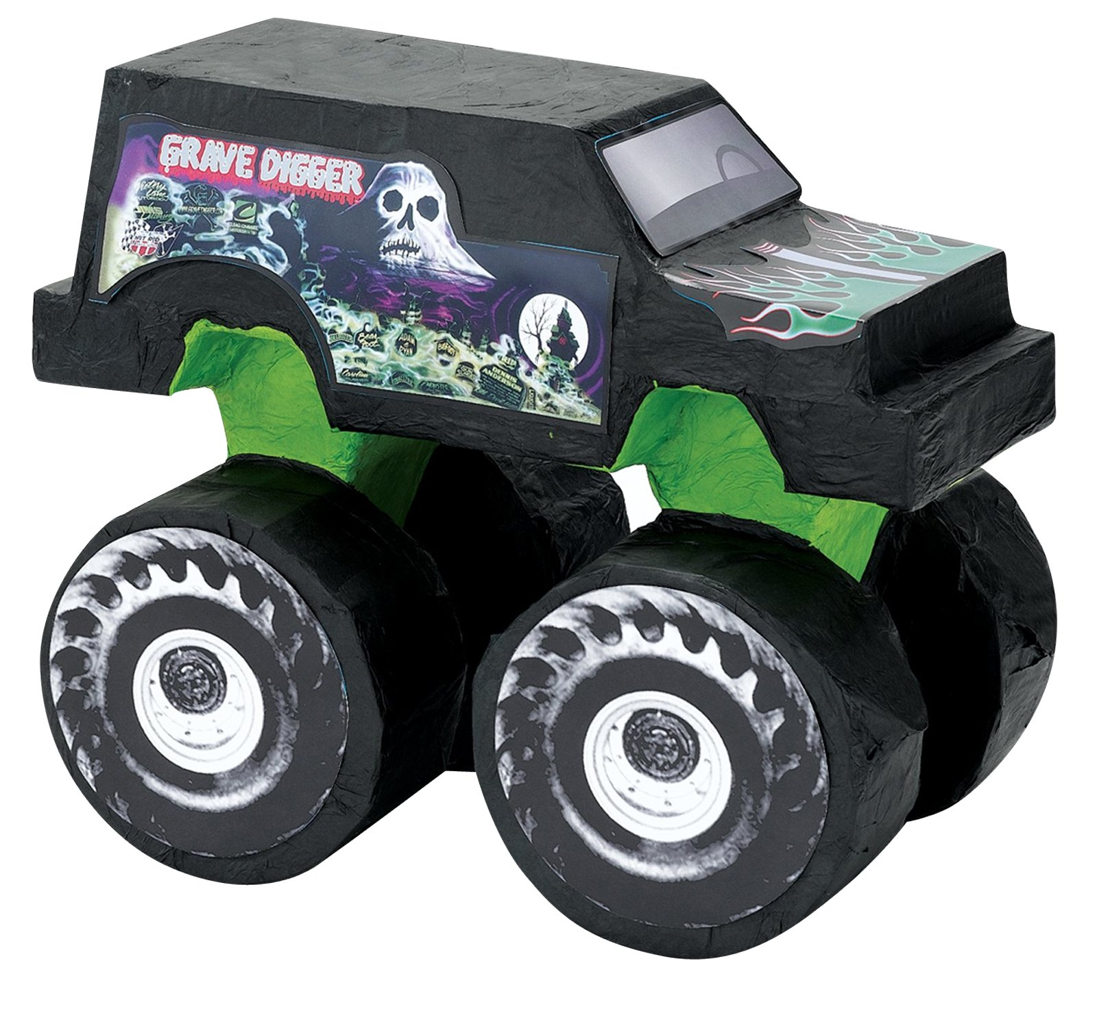 BirthdayExpress Monster Jam Party Supplies - Grave Digger Pinata by BirthdayExpress