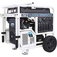 Pulsar PG15KVTW V-Twin 15,000W Peak/12,000W Rated Portable Gas-Powered Generator with Electric Push Start