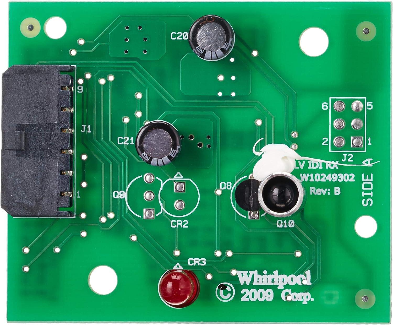 Whirlpool W10898445 - Tabla de control de nivel de hielo: Amazon ...