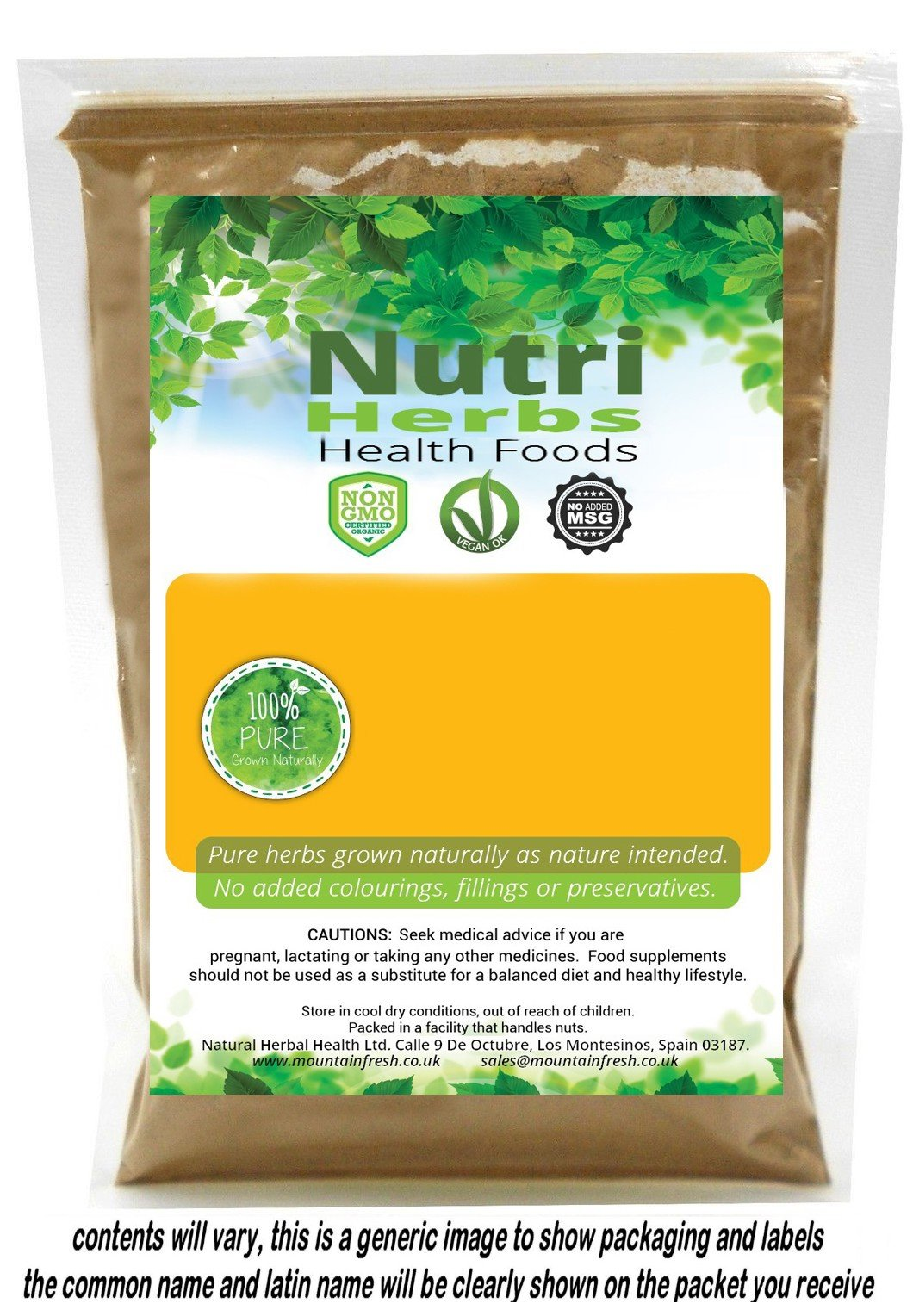 Organic Cumin Seeds Cuminum cyminum Ground 100g FREE UK Delivery