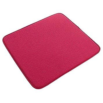 Amos plato secado alfombrilla de microfibra Ultra absorbente toalla de paño  de cocina escurridor (41 400318933c7d