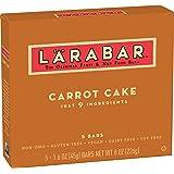 Larabar Gluten Free Bar, Carrot Cake, 1.6 oz Bars (5 Count)