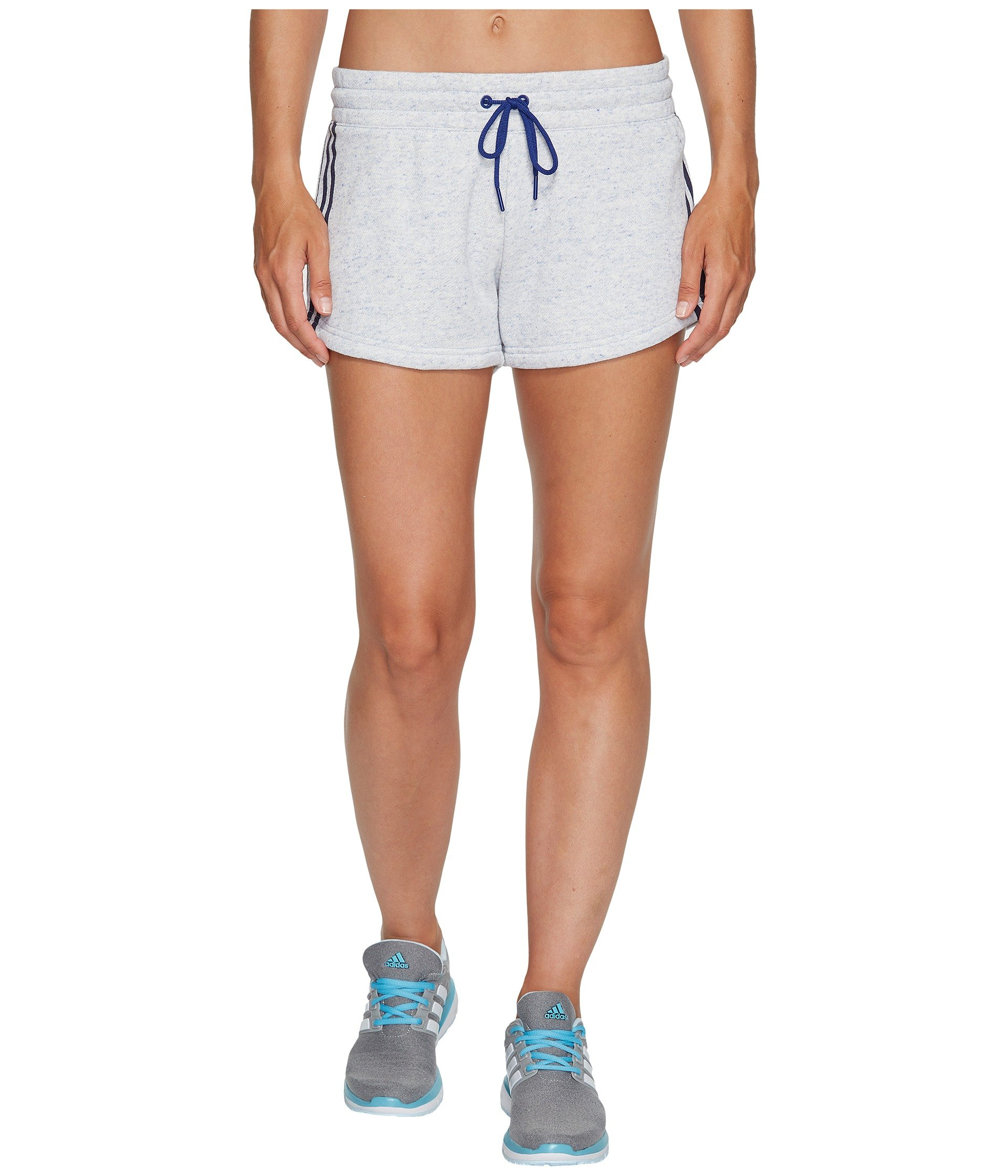 adidas Women's Athletics Sport 2 Street Shorts, Mystery Ink Melange, Medium by adidas