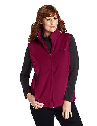 Plus Women's Columbia Vest Size Benton Springs F1lJc3TK