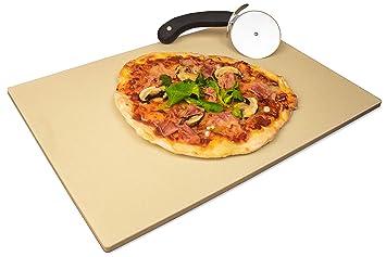 Grillstein Für Gasgrill : Radoleo® pizzastein xl set für grill oder großen backofen inklusive