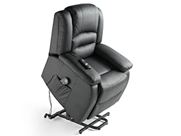 ECO-DE - Sillon de masaje elevador ECO-DE® Maximum Negro ECO ...