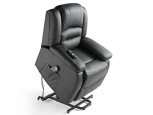 ECO-DE - Sillon de masaje elevador ECO-DE® Maximum Negro ECO ...