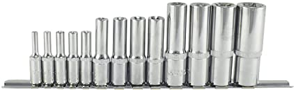 Trident E-Torx Deep Socket Set 1//4-3//8-1//2 Drive 13 Piece T100650 Free P/&P