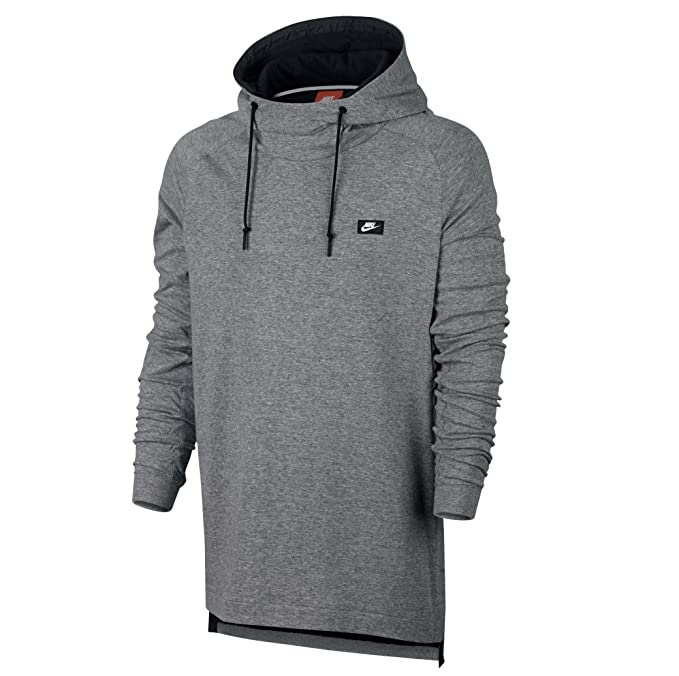 Nike Sudadera Capucha Sportswear Modern Gris Talla: S (Small)