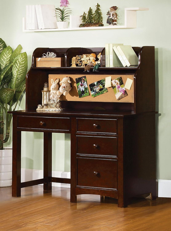 Amazoncom Furniture of America Alaia Dark Walnut