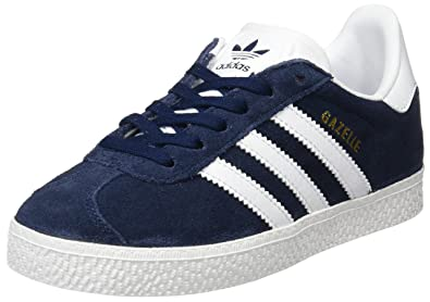online store 283ff 18faf adidas Originals Gazelle Shoes 10.5 M US Little Kid Collegiate Navy White