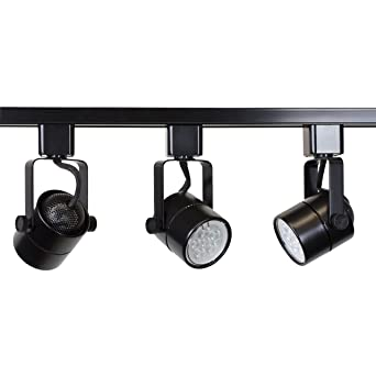 Direct-Lighting Brand H System 3-Lights GU10 LED Track Lighting Kit Black 3K  sc 1 st  Amazon.com & Direct-Lighting Brand H System 3-Lights GU10 LED Track Lighting ... azcodes.com