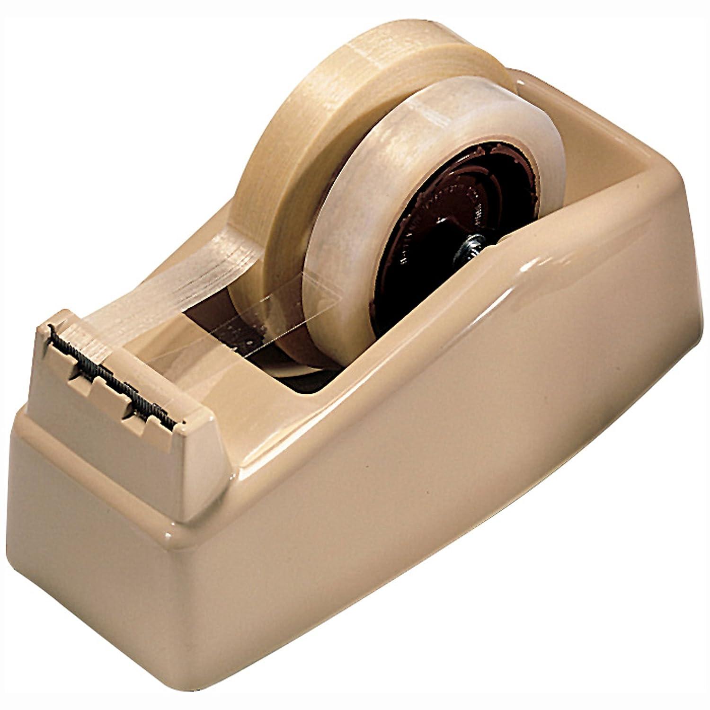 3M C22 Two-Roll Desktop Tape Dispenser 3 core High-Impact Plastic Beige   B0031RGFJY