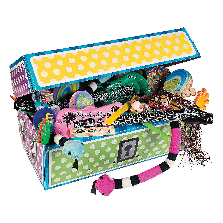 Fun Express - 500pc Treasure Chest Assortment - Toys - Assortments - Misc Assortments - 500 Pieces by Fun Express