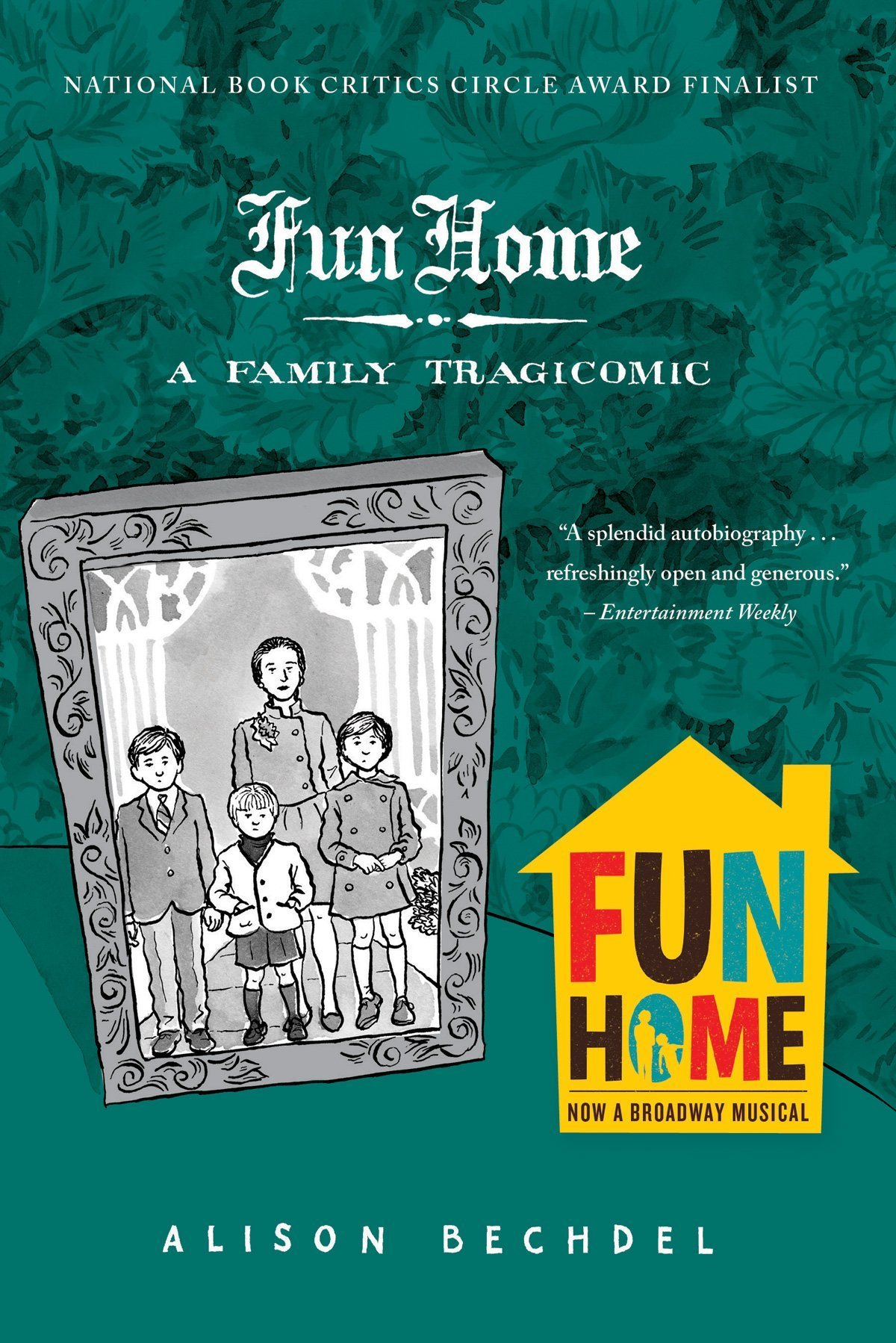 Image result for fun home alison bechdel
