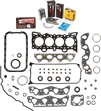 96-00 Honda Civic Del Sol 1.6 D16Y5 D16Y7 D16Y8 SOHC Master Rebuild Engine Kit