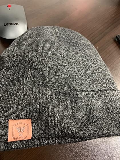 OZERO Winter Daily Beanie Stocking Hat - Warm Polar Fleece Skull Cap for Men and Women Purple/Gray/Black Very warm