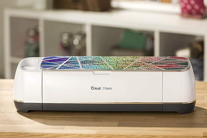 Cricut Holographic Sparkle Vinyl Gold 12X48 Vinyls holográfico de 30,48 cm x 121,92 cm, ópalo, Vinilo, Dorado, 4.3 x 30.5 x 4.3 cm, Multicolor, Talla Única: Amazon.es: Juguetes y juegos