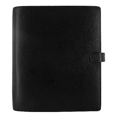 Filofax 2020 A5 Finsbury Organizer, Black, Paper Size 8.25 x 5.75 inches (C025368-20)