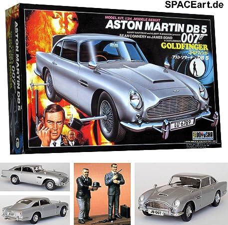 James Bond 007 Goldfinger Aston Martin Db5 Model Kit Amazon De Spielzeug