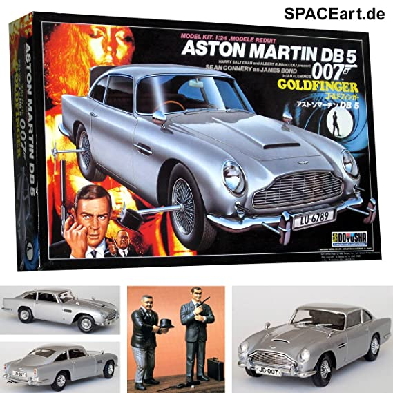 JAMES BOND 007 GOLDFINGER ASTON MARTIN DB5 MODEL KIT: Amazon.co.uk: Toys U0026  Games