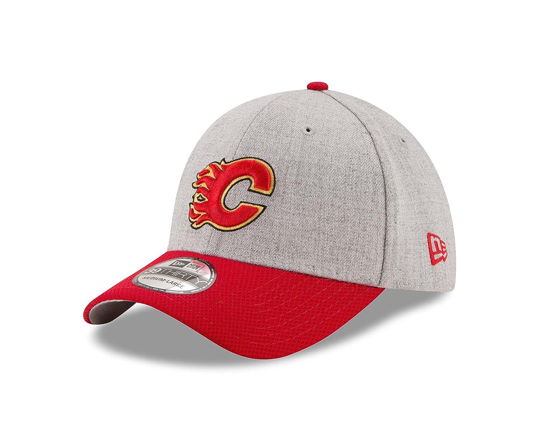 Amazon.com   New Era NHL Calgary Flames Adult Change Up Redux 39THIRTY  Stretch Fit Cap af8627c22002