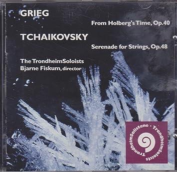ホルベルク組曲 / String Serenade フィスクム / トロンヘイム・ソロイスツ