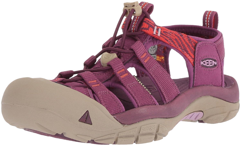 KEEN Women's Newport Hydro-W Sandal B06ZYRXLT6 10 B(M) US|Grape Kiss/Summer Fig