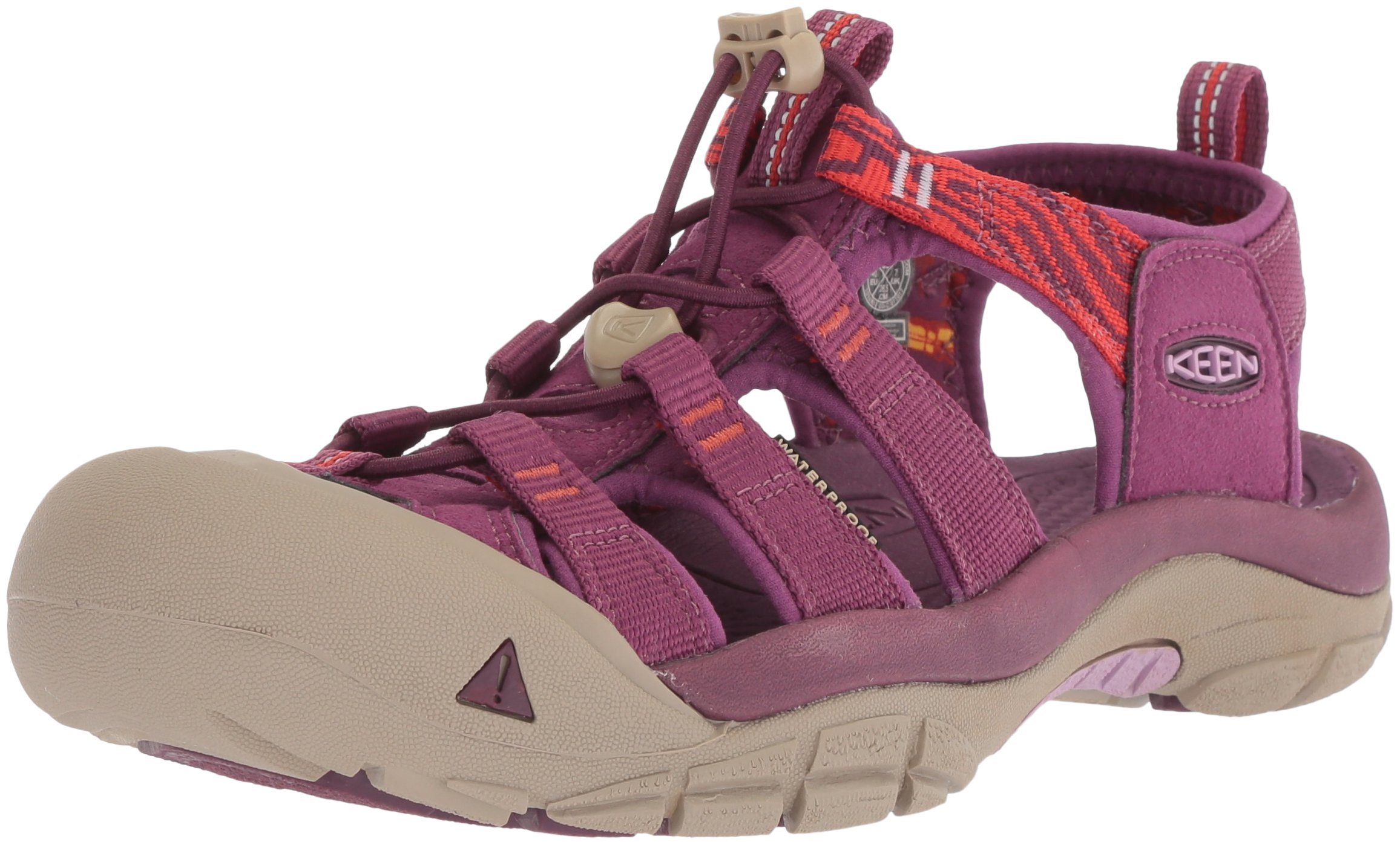 KEEN Women's Newport Hydro-W Sandal, Grape Kiss/Summer Fig, 10 M US