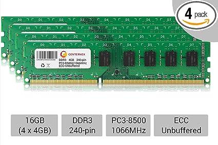 32GB KIT 4X 8GB PC3-10600 1333 MHZ ECC REGISTERED APPLE Mac Pro A1289 MEMORY RAM