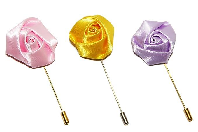 Amazon.com: sunvan para hombre flor hecha a mano Pin de ...