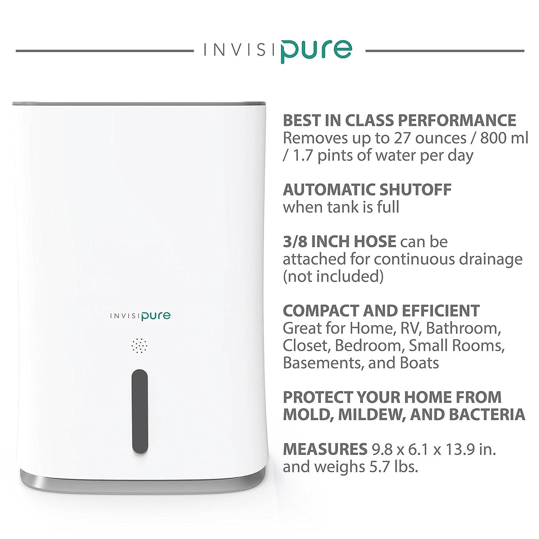 Portable Dehumidifier For Home, Rv, Bathroom, Closet, Bedroom, Small Room,