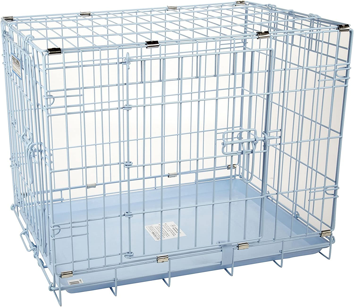 Precision Pet Snoozzy Baby 2-Door Crate, Blue