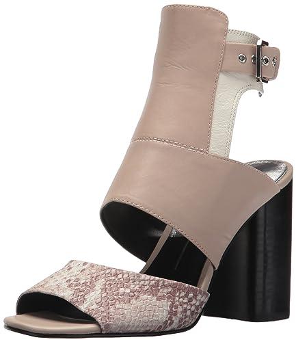78ac582db904 Dolce Vita Women s Romeo Heeled Sandal Natural Snake Leather 6 Medium US