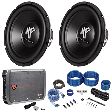 Amazon com: (2) Hifonics HFX12D4 12