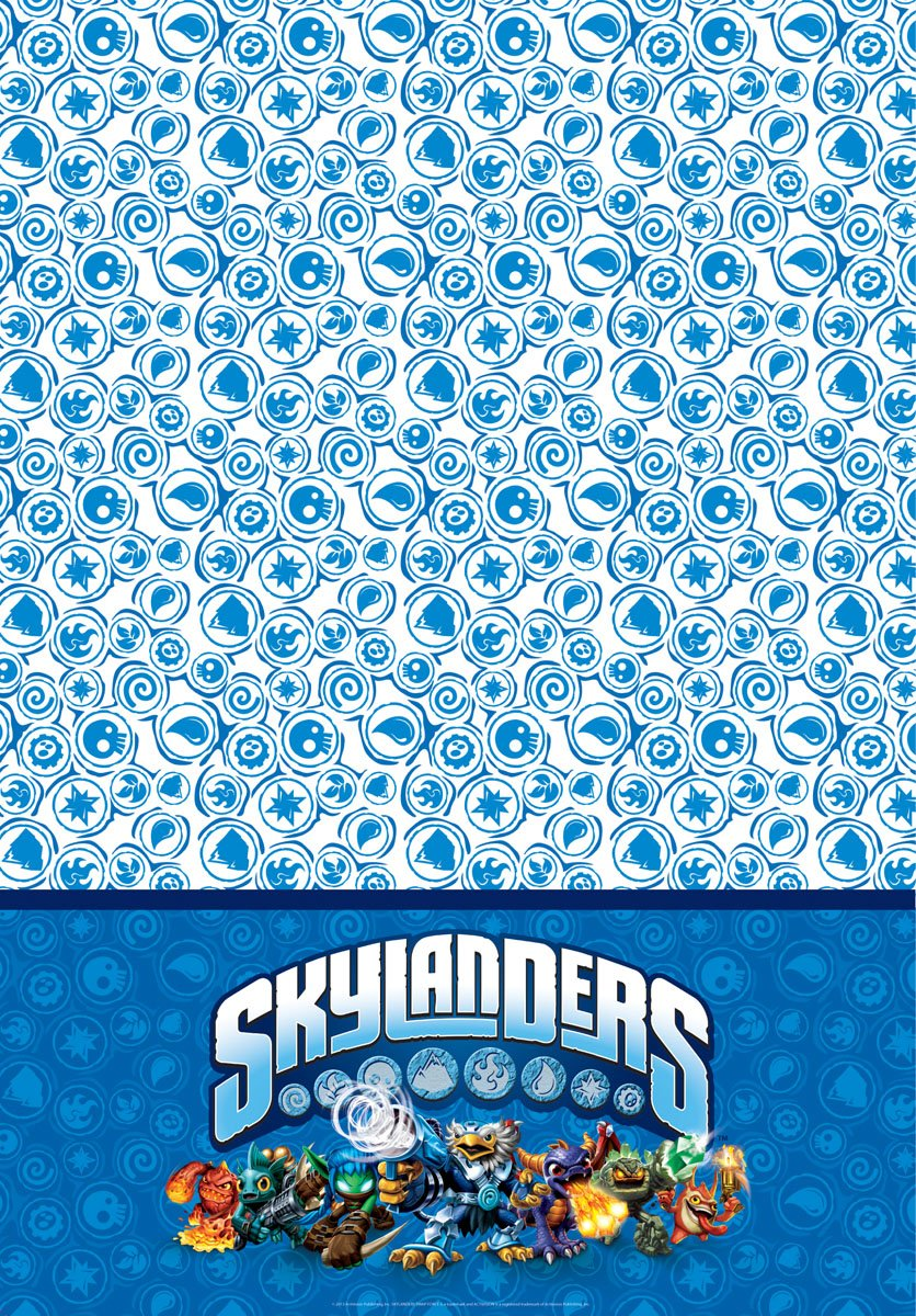 Skylanders Tischdecke 180 x 130 cm Folat