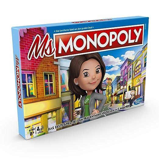 Ms Monopoly, Juego de compañía para Adultos y niños, a Partir de 8 ...
